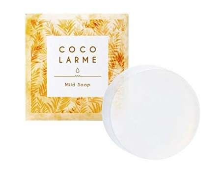 COCOLARME さくらの森 洗顔石けん VCO 濃密泡 マイルドソープ