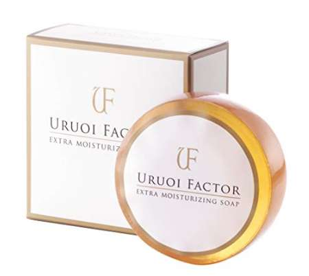 URUOI FACTOR フルボ酸 スクワラン配合 無添加洗顔石鹸 弱アルカリ性 UFソープ
