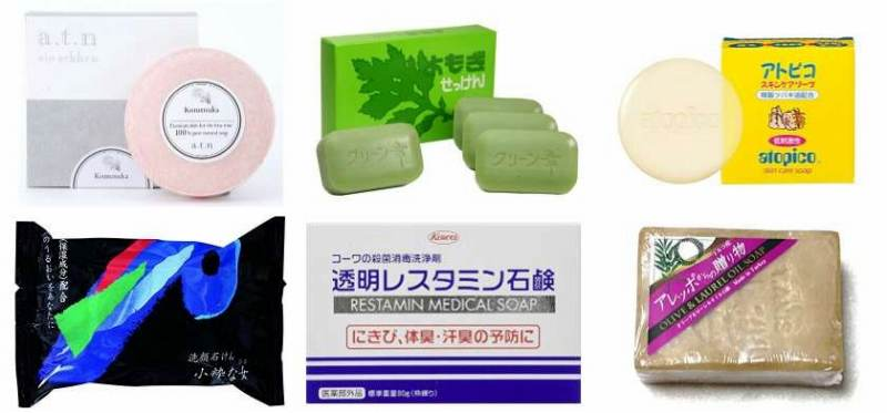 人気のアトピー洗顔石鹸