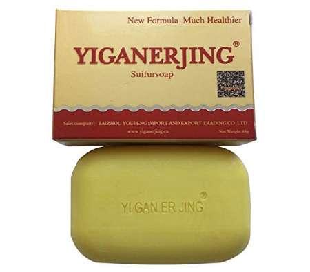 顔ダニ対策硫黄石鹸 Yiganerjing Sulfur Soap