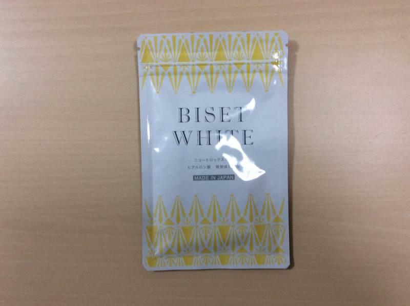 ビセットホワイト(BISET WHITE)の全体