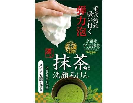 コスメテックスローランド 茶の粋 濃い洗顔石鹸M