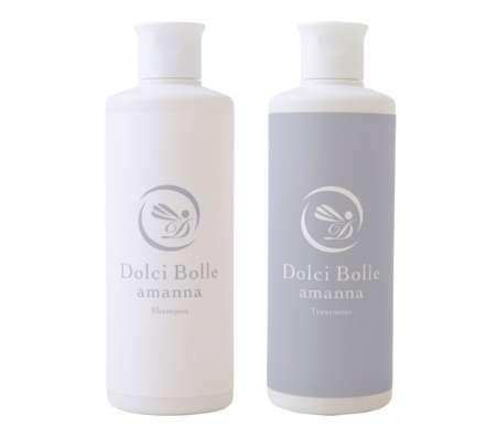 Dolci Bolle(ドルチボーレ) amanna(アマンナ) シャンプー&トリートメントセット