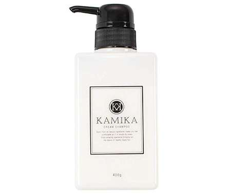 黒髪クリームシャンプー KAMIKA カミカ