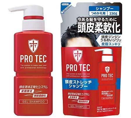 PRO TEC プロテク 頭皮ストレッチシャンプー