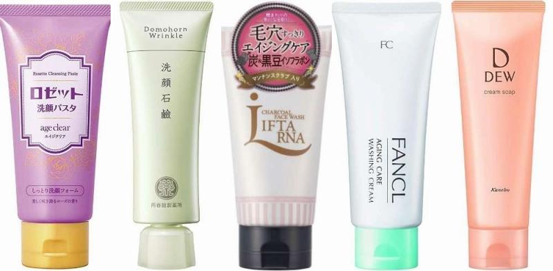 人気の50代向け洗顔フォーム