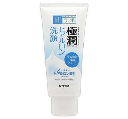 肌ラボ 極潤 ヒアルロン洗顔フォーム