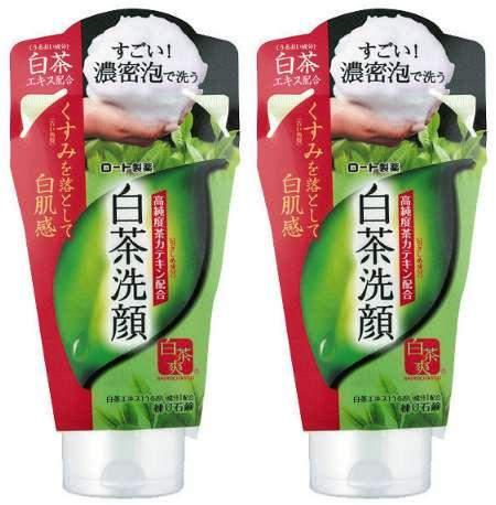 ロート製薬 白茶爽 白茶練り石鹸洗顔