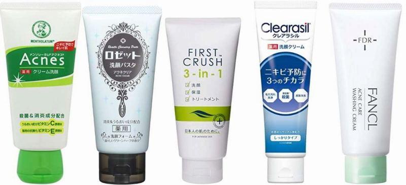 ニキビ 洗顔 市販
