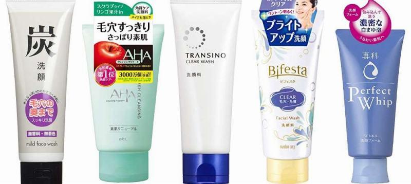 人気の毛穴対策洗顔フォーム
