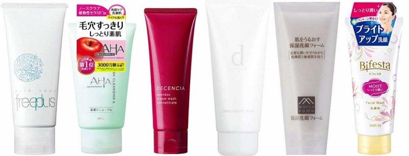 人気の敏感肌洗顔フォーム