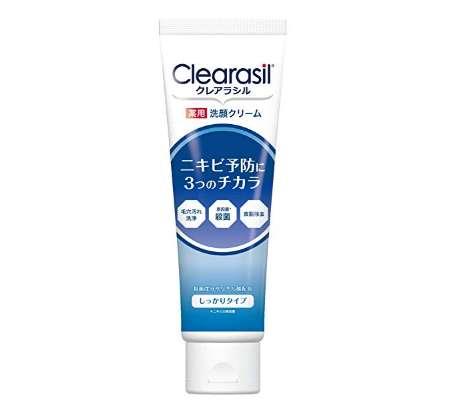 クレアラシル ニキビ対策 薬用 洗顔フォーム しっかりタイプ