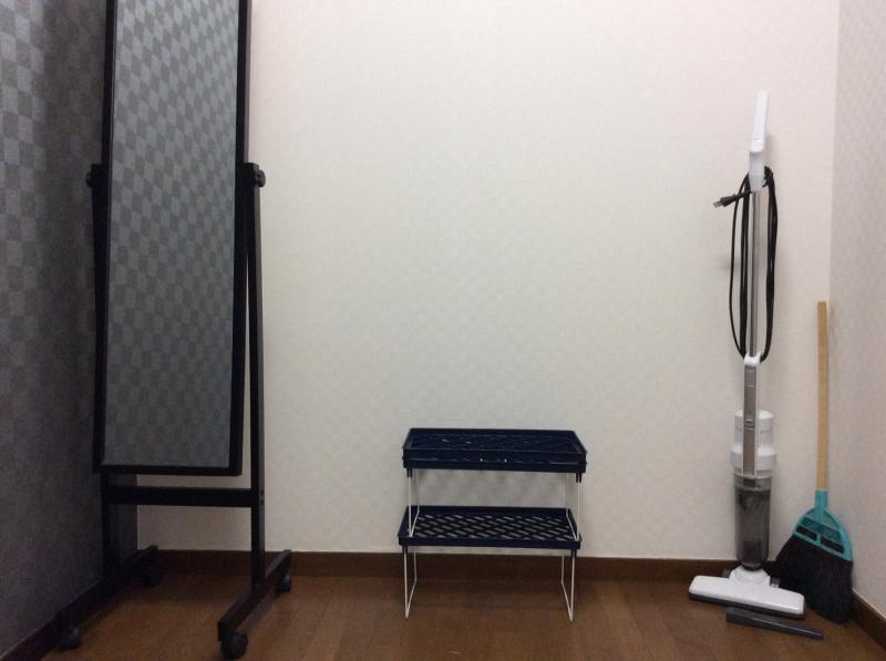 京都上桂シェアハウス コモンホーム1号館の2階廊下の物置スペース