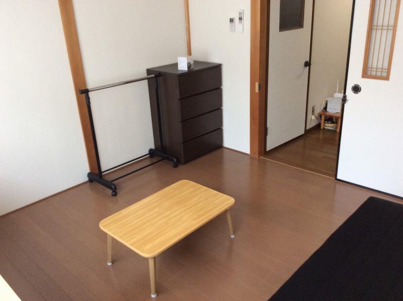 京都上桂シェアハウス コモンホーム1号館の202号室のチェスト