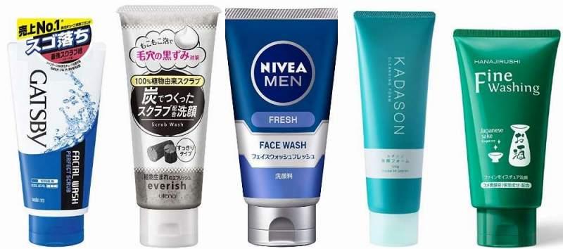 人気の脂性肌(オイリー肌)洗顔フォーム