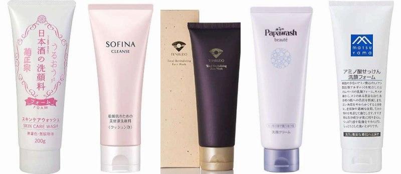 人気の乾燥肌洗顔フォーム