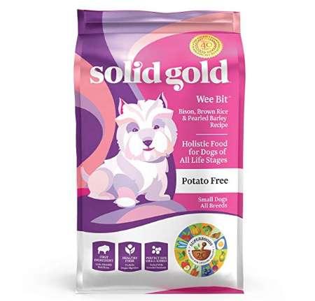 ソリッドゴールド ウィービット 小型成犬用