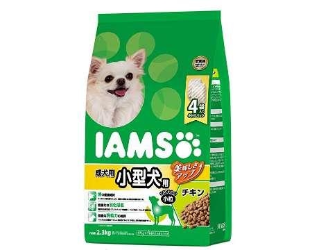 アイムス IAMS ドッグフード 成犬用 小型犬用 小粒 チキン