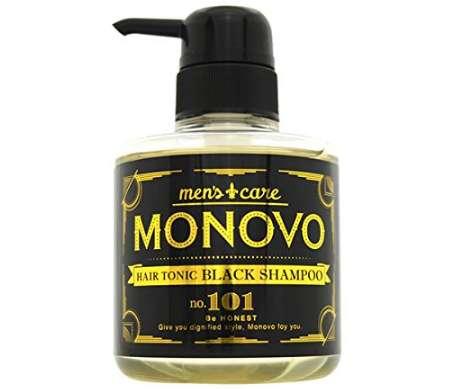 MONOVO ヘアトニックブラックシャンプー