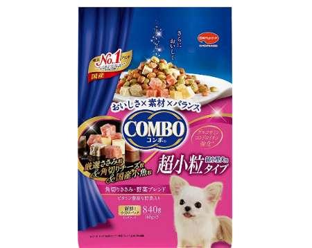 コンボ コンボ ドッグ 超小型犬用 角切りささみ・野菜ブレンド