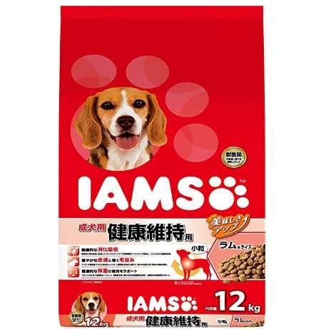 アイムス IAMS ドッグフード 成犬用 健康維持用 小粒 ラム&ライス