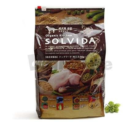 ソルビダ SOLVIDA 成犬用 中粒 アダルト