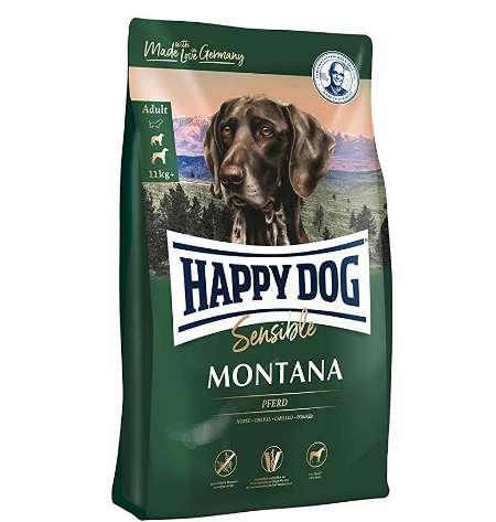 ハッピードッグ スプリーム モンタナ 馬肉 グルテン、グレインフリー 中~大型犬用 アレルギーケア 成犬~シニア