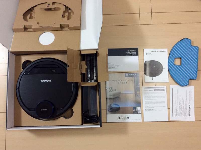 エコバックスロボット掃除機「DEEBOT OZMO 930(ディーボット オズモ 930)」の内容