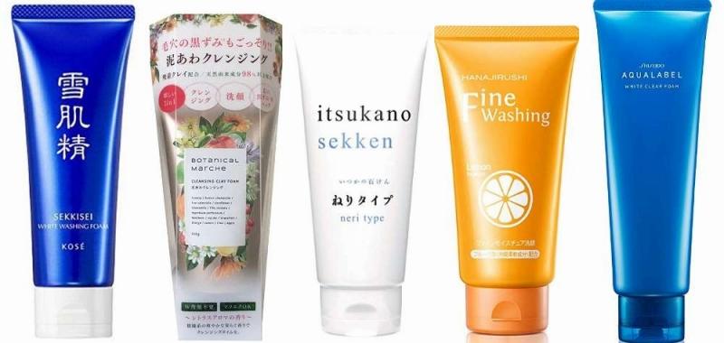 人気の美白洗顔フォーム