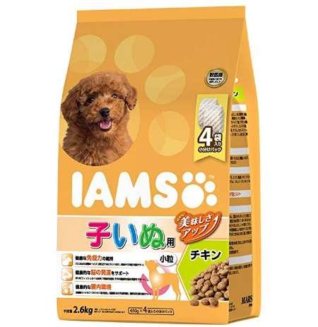 アイムス IAMS ドッグフード 12か月までの子いぬ用 小粒 チキン