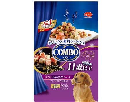 コンボ ドッグ 11歳以上 角切りささみ・野菜ブレンド
