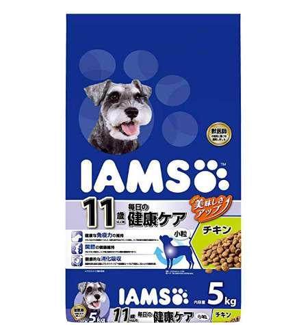 アイムス ドッグフード 11歳以上用 毎日の健康ケア 小粒 チキン シニア犬用