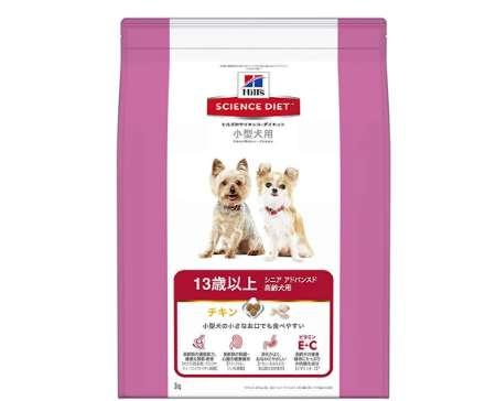 ヒルズのサイエンス・ダイエット ドッグフード シニアアドバンスド 小型犬用 高齢犬用 13歳以上 チキン