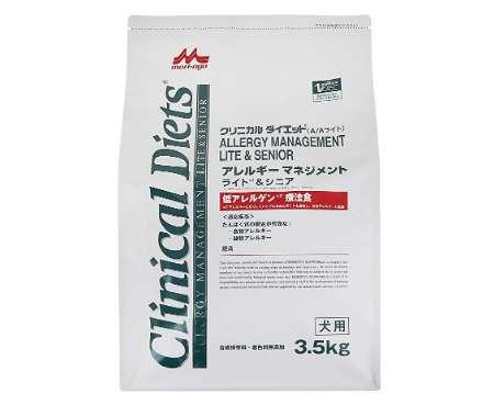 森乳サンワールド 療法食 クリニカルダイエット アレルギーマネジメント ライト&シニア