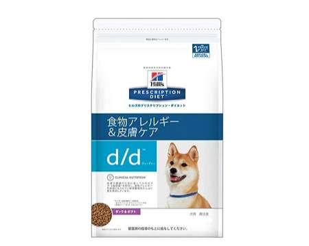 プリスクリプション・ダイエット ドッグフード d/d 植物アレルギー&皮膚ケア ダッグポテト