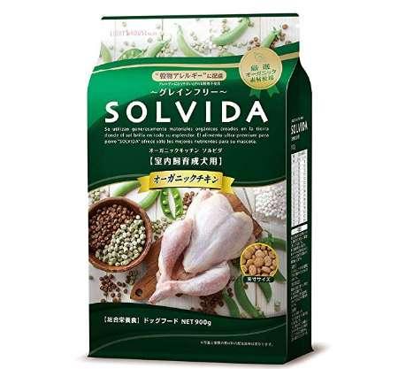 ソルビダ グレインフリー チキン 室内飼育成犬用