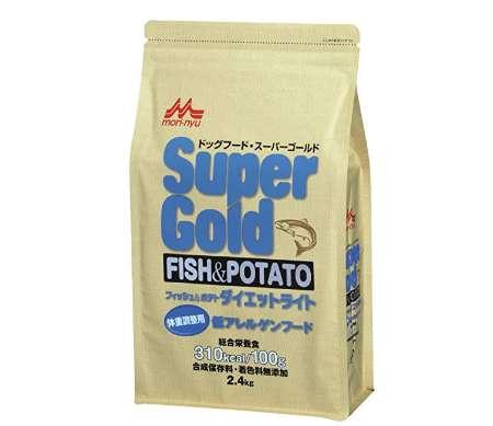 スーパーゴールド フィッシュアンドポテト ダイエットライト 犬用