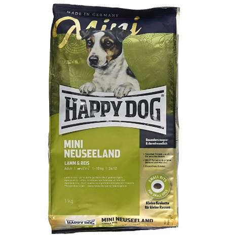 HAPPY DOG ハッピードッグ スプリーム・ミニ ニュージーランド ラム&ライス 消化器ケア グルメで敏感な成犬用ドライフード 小型犬用