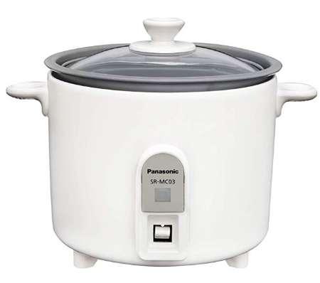 パナソニック 炊飯器 1.5合 小型 ミニクッカー ホワイト SR-MC03
