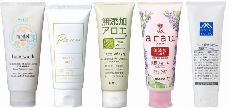 人気の無添加洗顔フォーム
