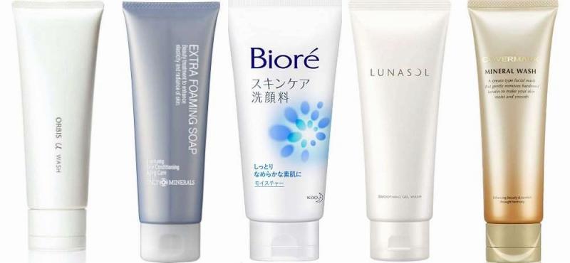 人気の30代向け洗顔フォーム