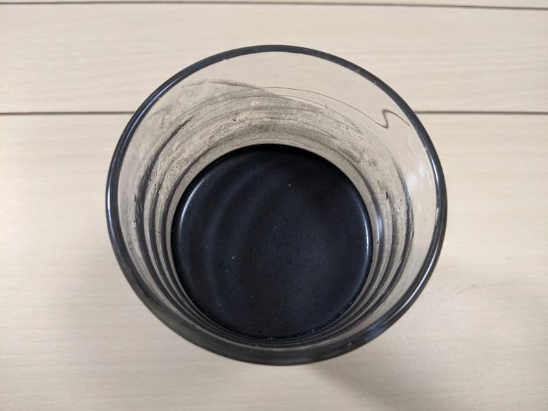 ビークレンズを水に溶かした状態