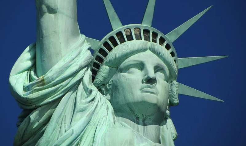 アメリカを象徴する自由の女神