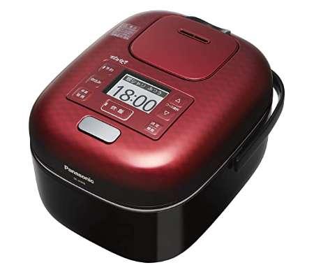 パナソニック 炊飯器 3合 可変圧力IH式 可変圧力おどり炊き SR-JX058