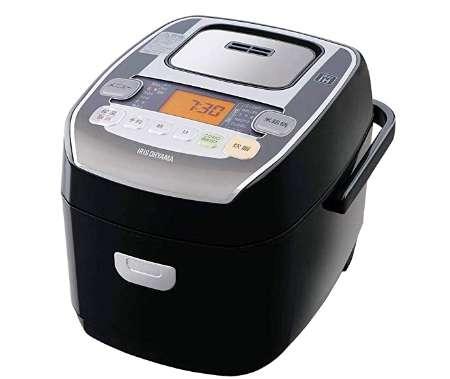 アイリスオーヤマ 圧力IH炊飯器 3合 圧力IH式 31銘柄炊き分け機能 極厚火釜 RC-PA30-B