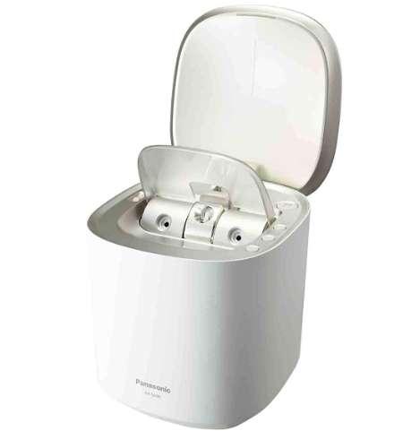 パナソニック スチーマー ナノケア W温冷エステタイプ 化粧水ミスト搭載 EH-SA0B-N