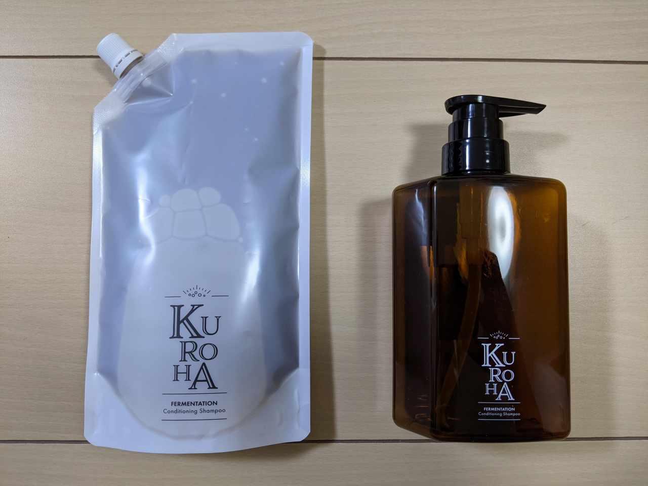 発酵黒髪シャンプー「KUROHA(クロハ)」
